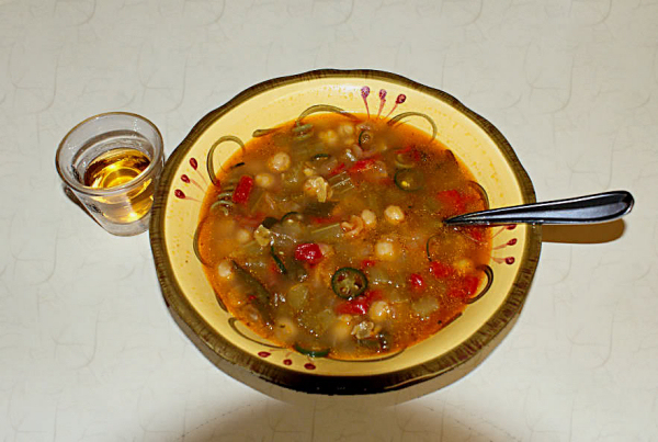 Puchero or Olla Andalúz