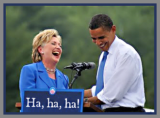 "Hillary & Obama make the ""Top Ten"" once again!"