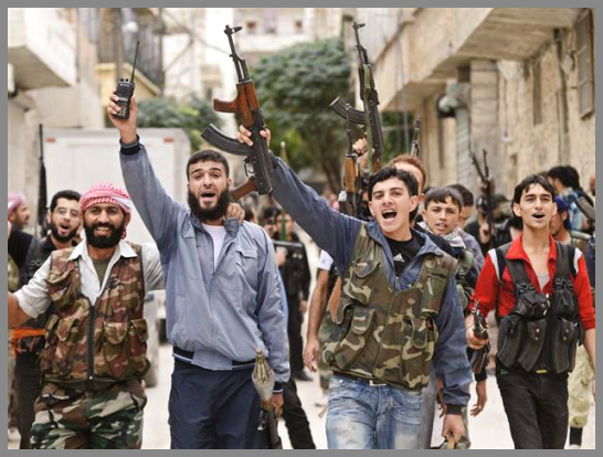 """""""Some of the foreign fighters hate the west and all non-Muslims,"""" he said. """"They want to attack churches. This is how they were taught in Iraq and Chechnya."""""""