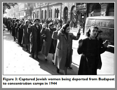 Disarmed Jewish Women Awaiting Execution