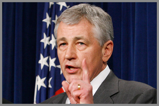 Chuck Hagel has been an apostate Republican for a while and has very few fans left among his former colleagues.
