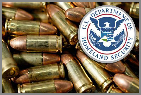 One can only speculate on why the DHS is continuing to purchase enormous quantities of bullets that they cannot use in battle, and that are hardly ever used in training.