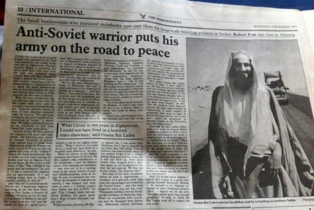 Bin Laden: 'No, I was never afraid of death. As Muslims, we believe that when we die, we go to heaven. ""