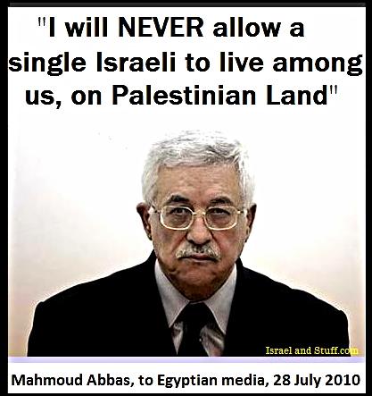 """""""Mahmoud Abbas""""  Israel's """"Peace Partner""""?"""