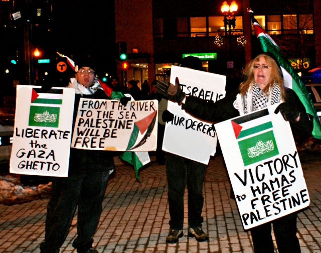 Hamas has many American supporters in Boston Mass.