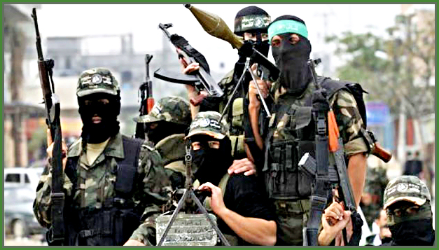 Delusional Hamas Terrorists Supported by The International Community