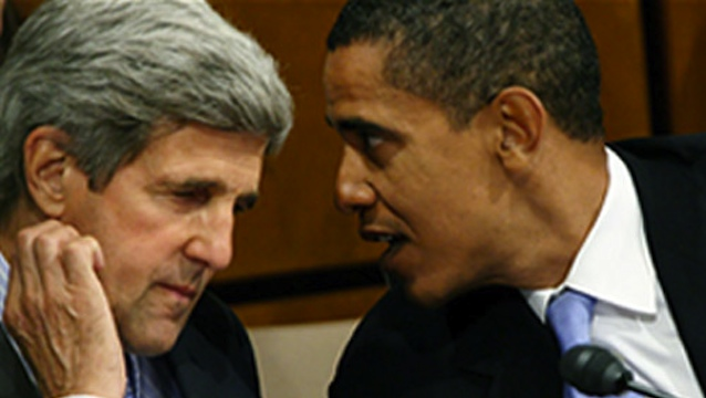 Is Kerry being blackmailed with his Iranian family ties?