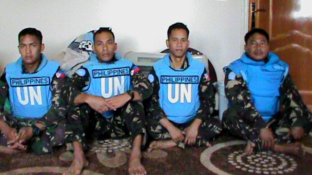 Abducted UN Peace Keepers