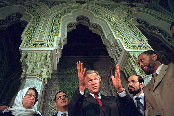 "Bush declares Islam ""The Religion of Peace"""