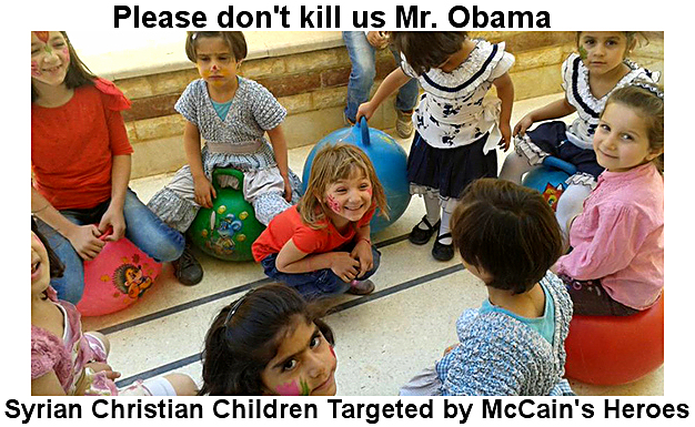 "Obama's ""Moderates"" are killing the original Christians"