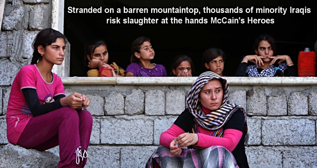 Yazidis mountaintop Crop 002