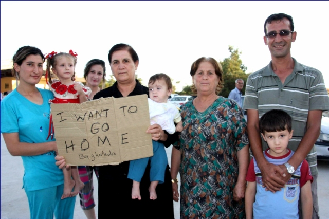 Iraqi Christians Yearn for Their Homeland...not Muslim America