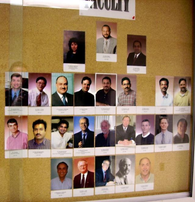 MacMaster Physics Staff