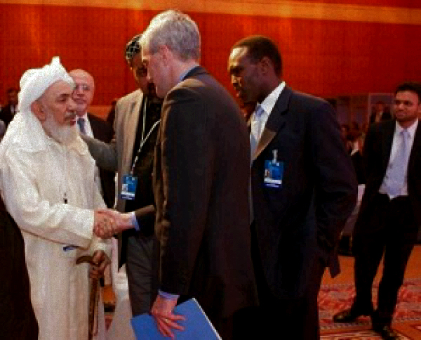 McDonough and Bayyah at the 2012 US-IWF in Doha, Qatar.