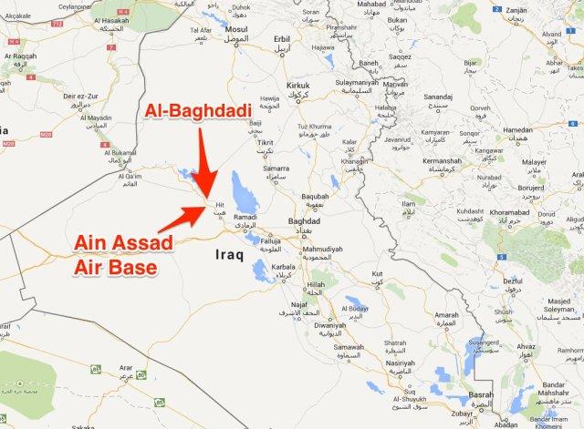 Al Baghdadi Airbase