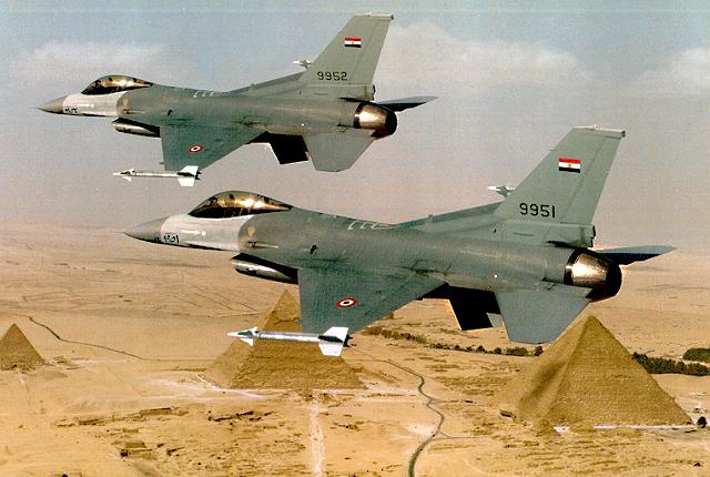 Egypt-F16s