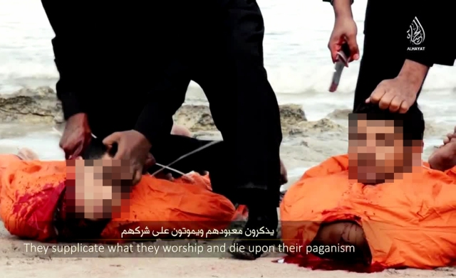 ISIS killing Copts Censored