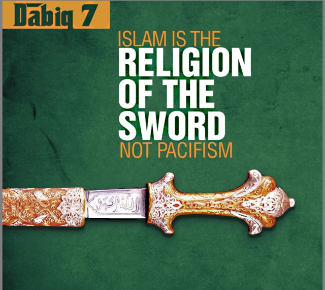 Islam is of the sword