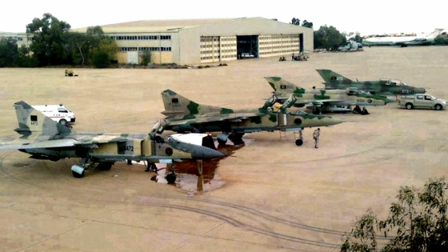 Libyan Rebel Airforce
