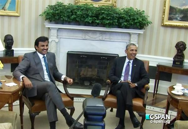 Obama & Qatar