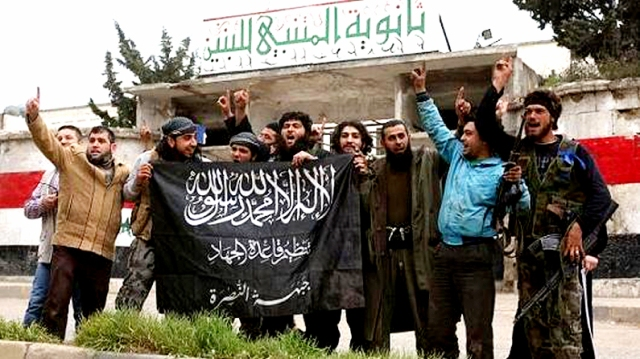 U.S. Backed Terrorists Celebrate in Idlib