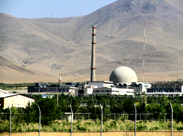 The Arak heavy water reactor, in Iran, is capable of producing plutonium