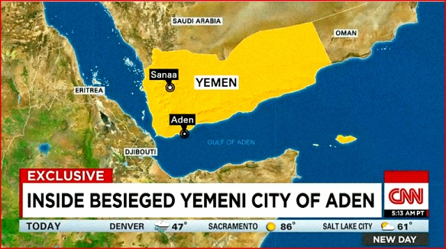 Besieged Yemeni City of Aden
