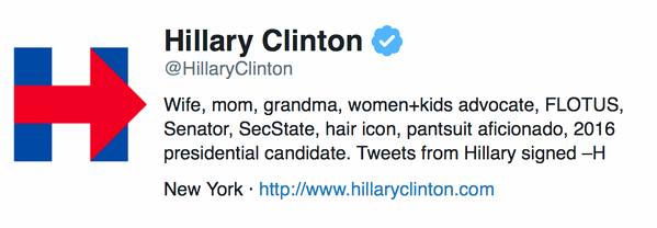 Clinton Tweet