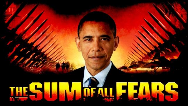 Obama Sum of Fears-framed
