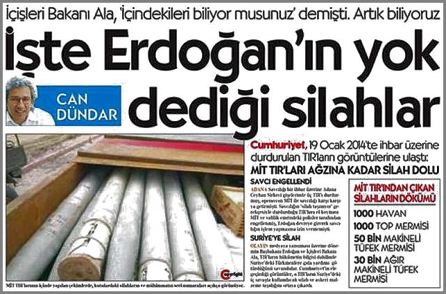Cumhuriyet Arms to Al Qaeda