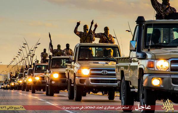 ISIS US trucks
