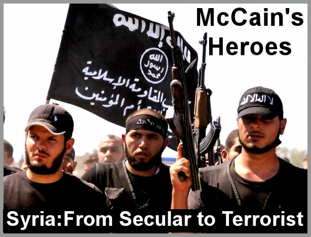 From secular to terrorist