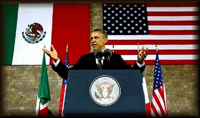 Obama Mexican Flag