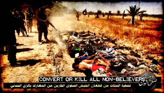 isis-executions of Non Believers