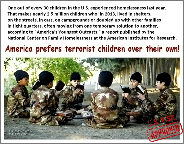 America Prefers Terrorist children
