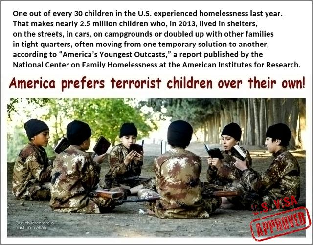 America Prefers Terrorist children