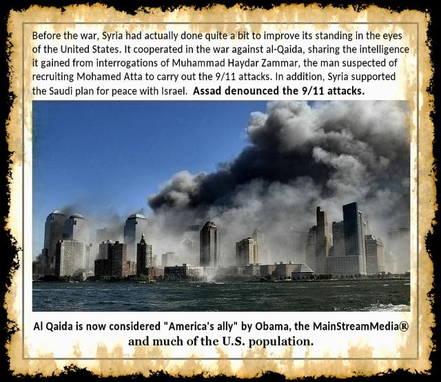 Obama Supports Al Qaeda