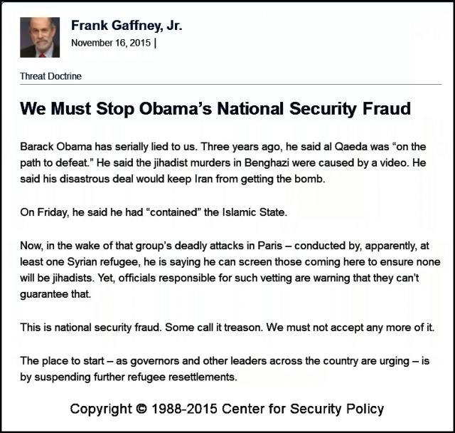 Stop Obamas fraud