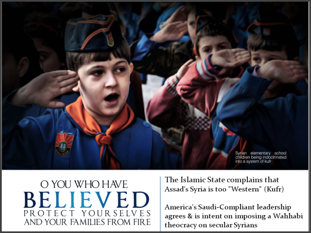 Syrian Scouts Impose Wahhabism