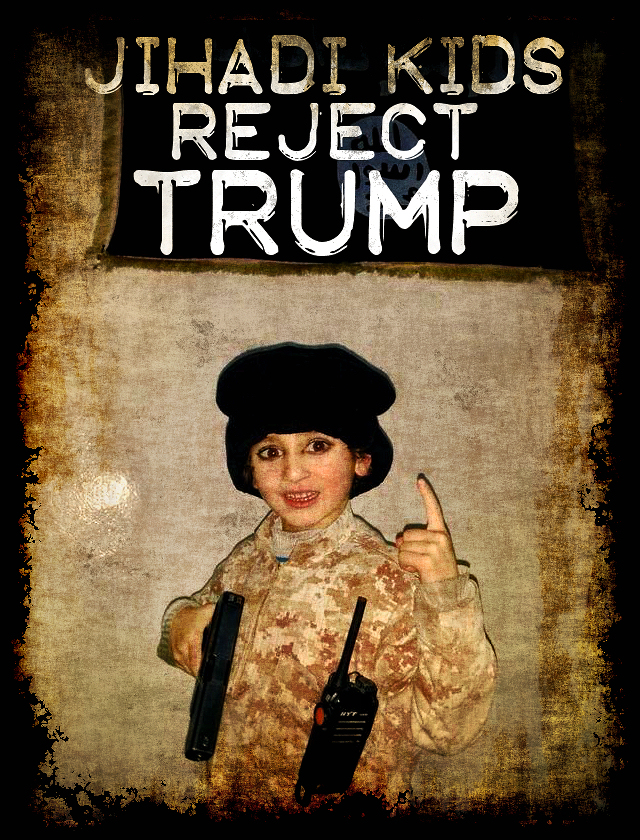 Jihadi Kids Reject Trump