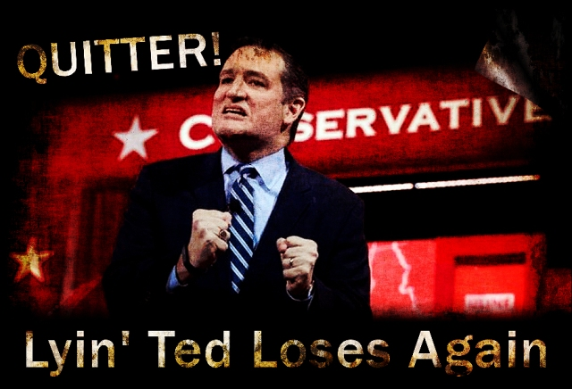 Lying Ted Quitter