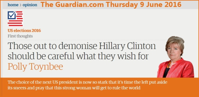 Guardian Hillary Rule the World